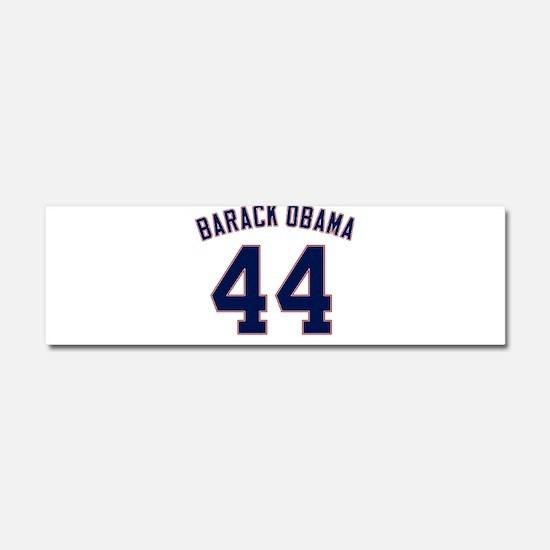 Barack Obama President 44 Car Magnet 10 x 3
