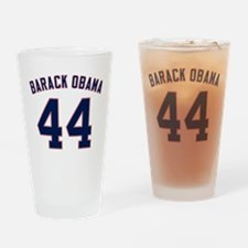 Barack Obama President 44 Drinking Glass