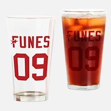 President Funes 2009 Drinking Glass