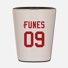 President Funes 2009 Shot Glass