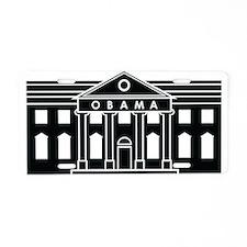 President Obamas House Aluminum License Plate