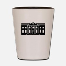 President Obamas House Shot Glass