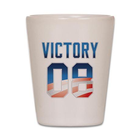 2008 Barack Obama Victory Shot Glass