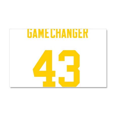 Game Changer 43 Car Magnet 20 x 12