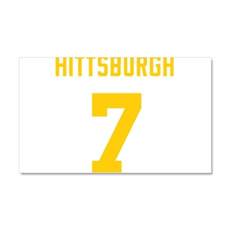 Hittsburgh 7 Car Magnet 20 x 12