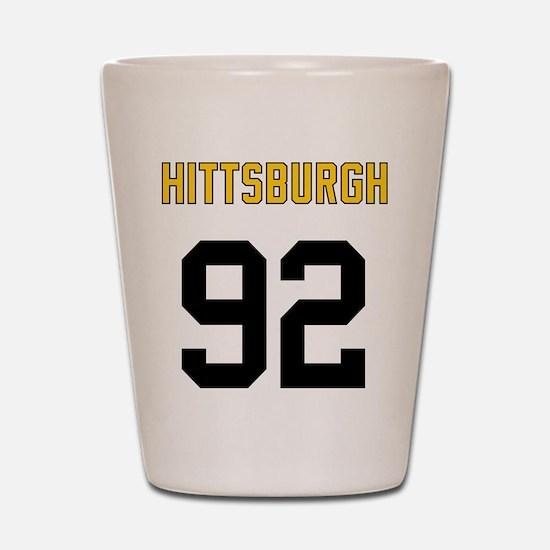 Hittsburgh 92 Shot Glass