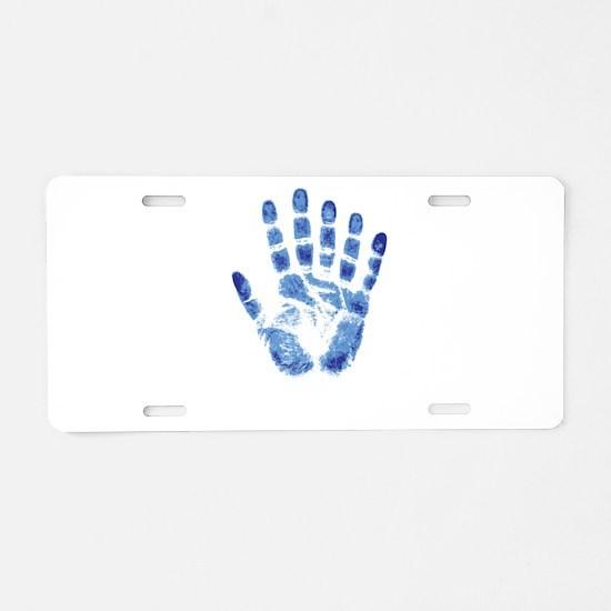 On The Fringe Aluminum License Plate