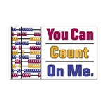 Count on Me Car Magnet 20 x 12