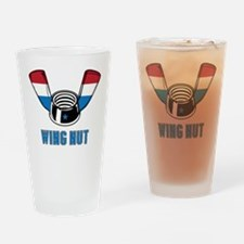 Wing Nut Drinking Glass
