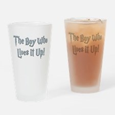 The Boy Who Lives It Up Drinking Glass