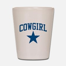 Cowgirl Shot Glass