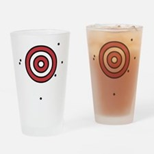 Target Practice Drinking Glass