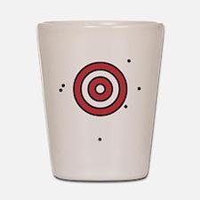 Target Practice Shot Glass