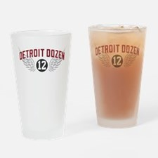 The Detroit Dozen Drinking Glass