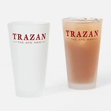 Trazan the Ape Man Drinking Glass