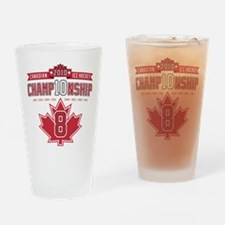 2010 Championship Drinking Glass