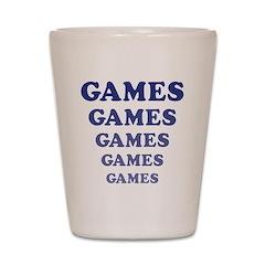 Amusement Park Games Shot Glass