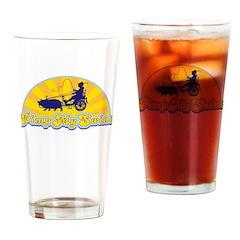 Pimp My Swine Drinking Glass