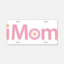 iMom Aluminum License Plate