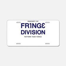 FRING3 DIVI5ION Aluminum License Plate
