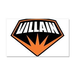 Villain Car Magnet 20 x 12