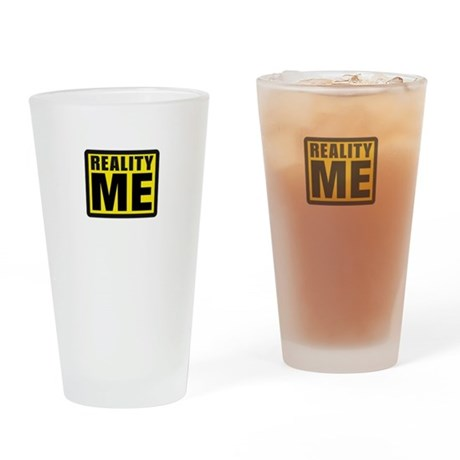 Reality Me Drinking Glass