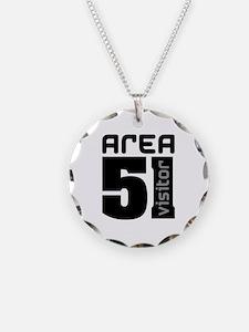 Area 51 Alien Visitor Necklace