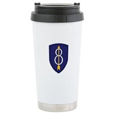 8th Infantry Division Travel Mug