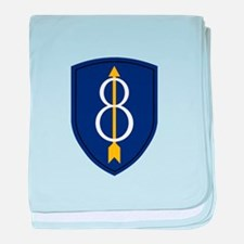 8th Infantry Division baby blanket