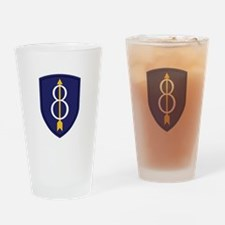 8th Infantry Division Drinking Glass