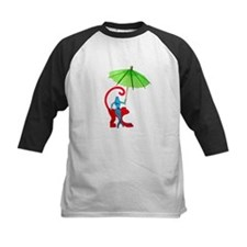 Cocktail Mermaid Monkey Tee