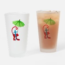 Cocktail Mermaid Monkey Drinking Glass