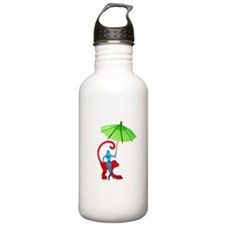 Cocktail Mermaid Monkey Water Bottle