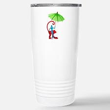 Cocktail Mermaid Monkey Travel Mug