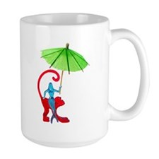 Cocktail Mermaid Monkey Mug