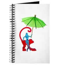 Cocktail Mermaid Monkey Journal