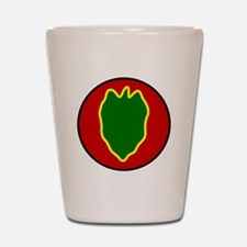 24th Infantry Division Shot Glass