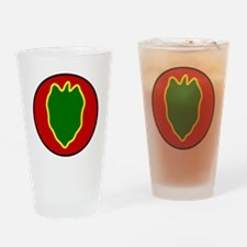24th Infantry Division Drinking Glass
