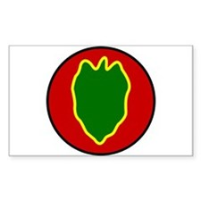 24th Infantry Division Decal