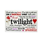 Twilight Quotes Rectangle Magnet (100 pack)