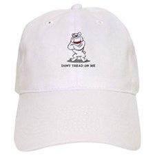 Bulldog Don't Tread on Me Baseball Cap
