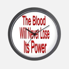 The Blood Wall Clock