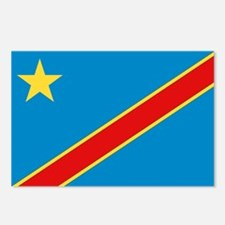 Democratic Rep. Congo Flag Postcards (Package of 8