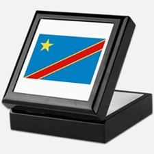 Democratic Rep. Congo Flag Keepsake Box