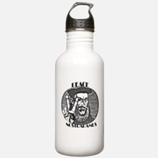 PEACE-NOSTRADAMUS Water Bottle