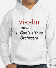 Definition of a Violin Hoodie