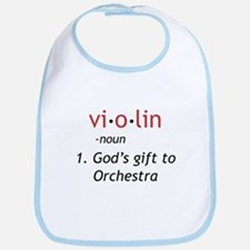 Definition of a Violin Bib