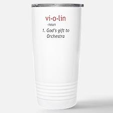 Definition of a Violin Travel Mug