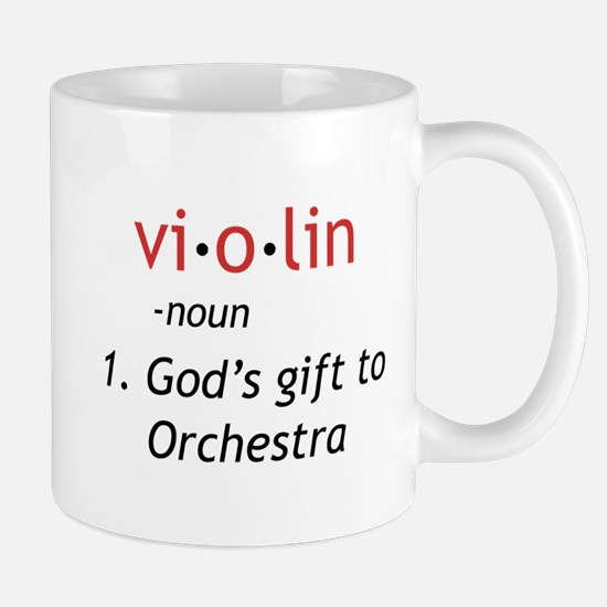 Definition of a Violin Mug