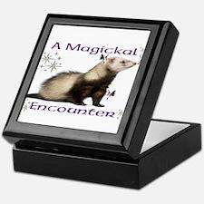 a magickal encounter Keepsake Box